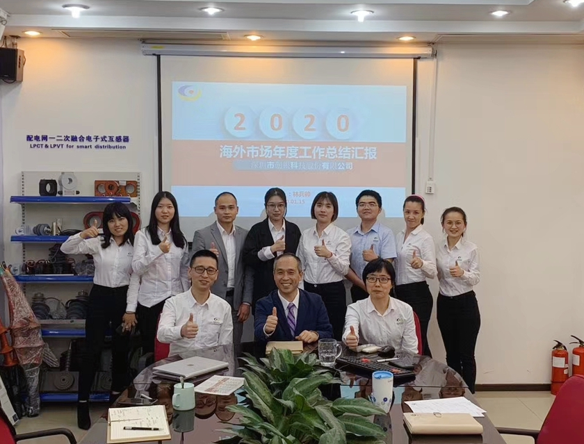 Chuangyin Overseas Market Department's 2019 Annual Work Summary and New Year Planning Conference Held